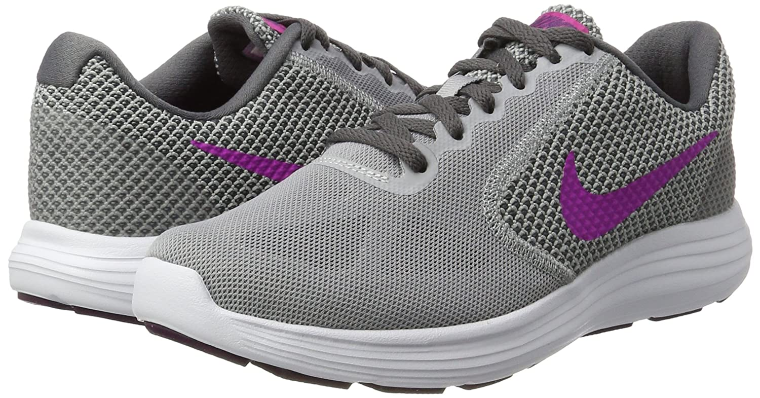 NIKE 819303 Scarpe 009, Scarpe 819303 da Trail Running Donna Multicolore Wolf Grey/Fire Pink dark) 169390