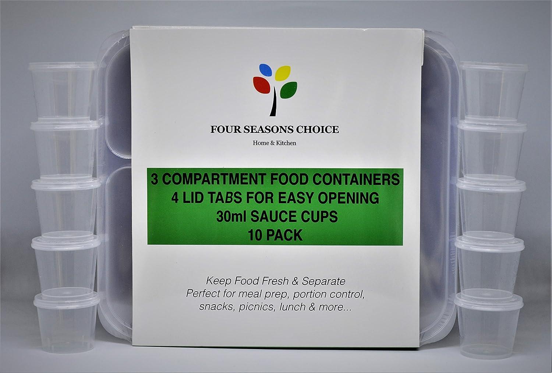 Pack de 10 unidades - Envases para alimentos de calidad prémium ...
