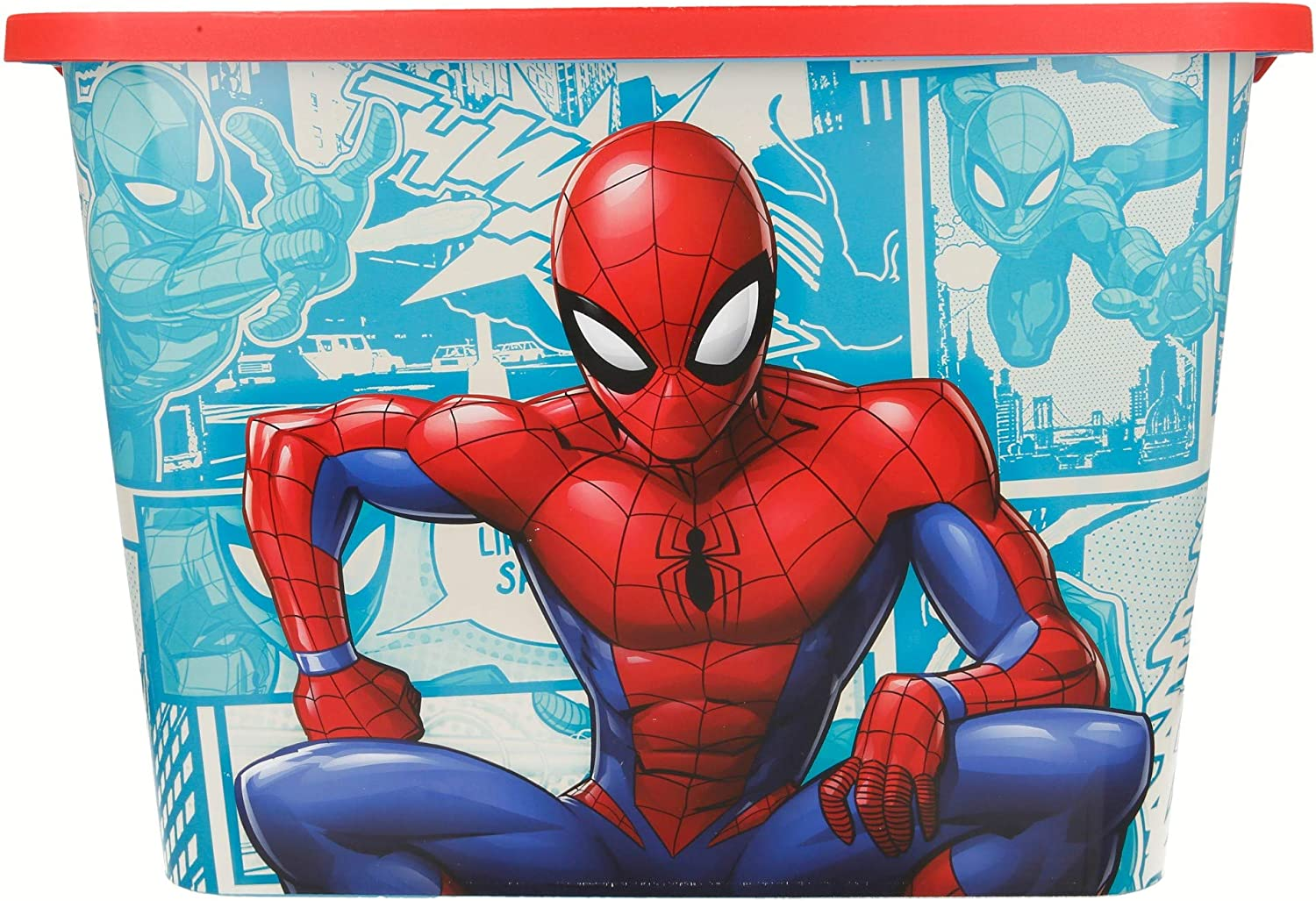 Stor Caja Click 23 L | Spiderman Comic Book