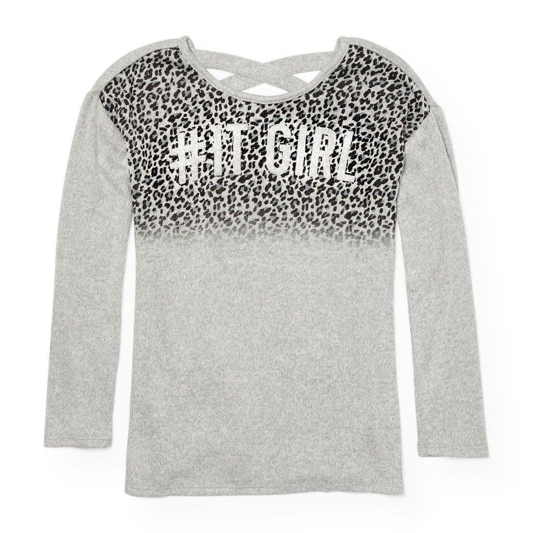 The Children's Place Little Girls' Long Sleeve T-Shirt, Dovetail 88068, S (5/6)