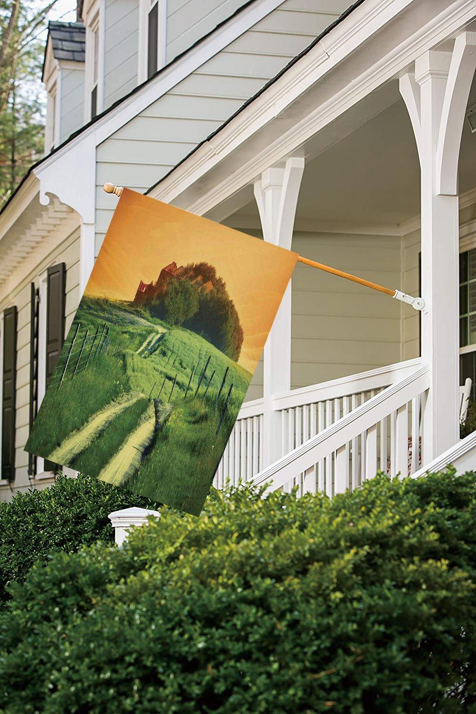 Bandera de jardín de poliéster, bandera de casa para exteriores ...
