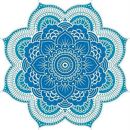 Toalla de Playa Redonda Indian Bohemio Mandala Toallas de Playa Tapestry Impreso Tapiz Playa Pinic Toalla