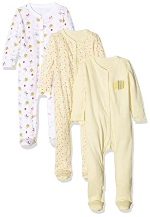 8970a7d73 Mothercare Baby Girls  Little Bee Sleepsuit