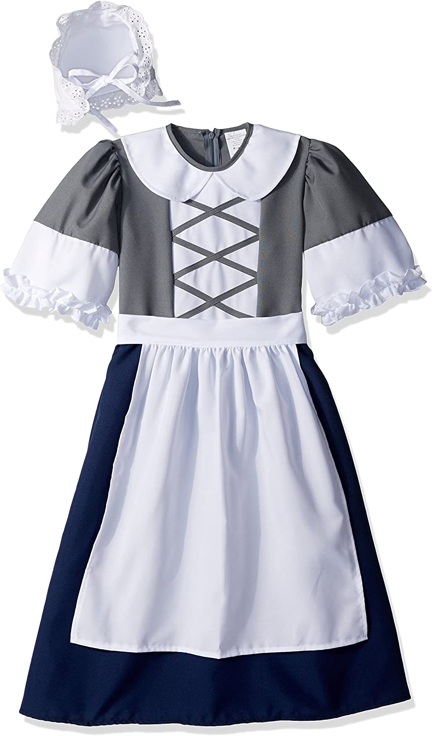 Childs Colonial Girl Costume
