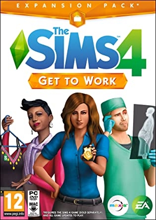 The Sims 4 Get To Work (PC DVD) [Importación Inglesa]