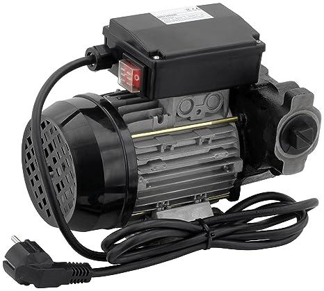 Blurea - Bomba diésel autoaspirante, 60l/min, 230 V, 370 W, bomba de aceite para reponer vehículos o como bomba de vaciado del tanque de aceite: Amazon.es: ...