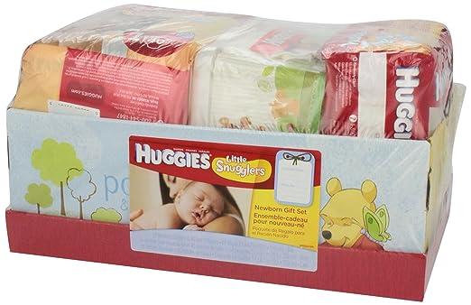 Amazon.com: Huggies Newborn Diapers & Wipes Gift Set: Health ...