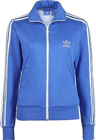 adidas originals fleece firebird damen sweatjacke