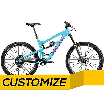 Amazon.com : Santa Cruz Nomad Carbon C (CC) Sram X01 1x11 Bike with ...