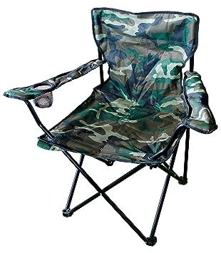 Silla plegable de Mojawo, silla de pescador, camping ...