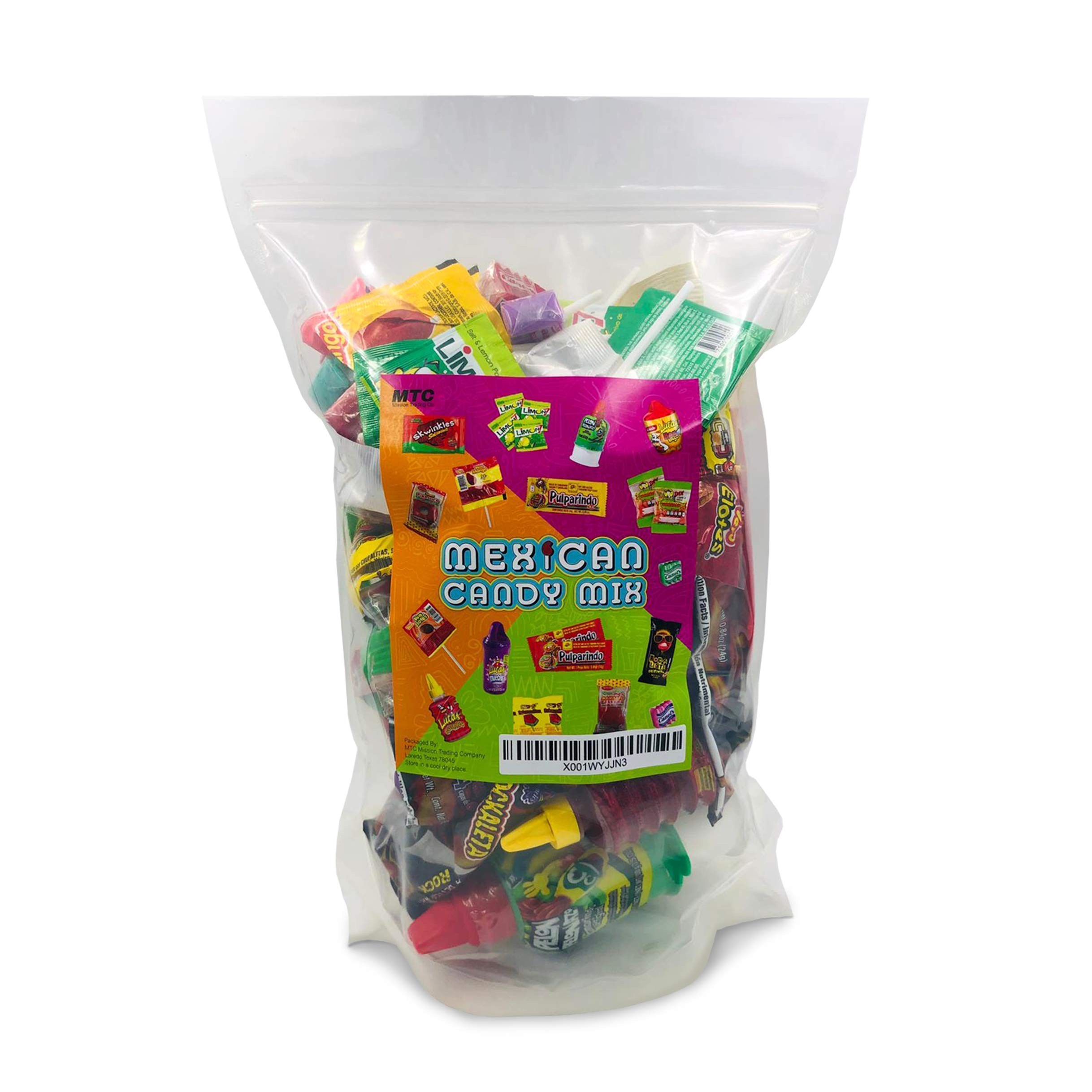 Mexican Candy Assortment Snacks (64 Count), Variety Of Spicy, Sweet, Sour Bulk Candies Dulces Mexicanos, Includes Lucas Candy, Pelon, Vero Lollipop, Pulparindo Makes A Great Gift By MTC. by MTC (Image #3)
