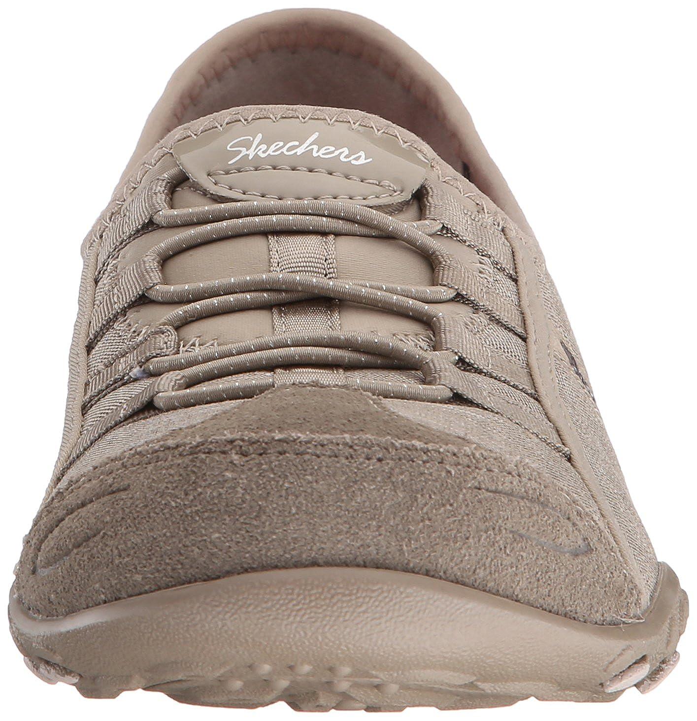 Skechers Life Damen Breathe-Easy Good Life Skechers Sneakers Beige 3c0629