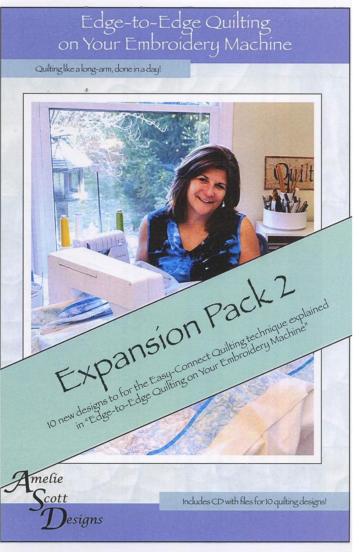 Amelia Scott Designs ASD208 Expansion 2 Pattern Blue