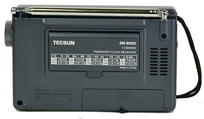 Amazon.com: TECSUN DR-920C Digital FM/MW/SW World Band Radio (Black Color): Home Audio & Theater