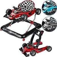 ib style® LITTLE Racer | 2 Fonct. | Trotteur| sons & lumière |EN 1273:2005 |3 Couleurs