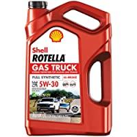 Deals on Shell Rotella Gas Truck Full Synthetic 5W-30 Motor Oil 5QT