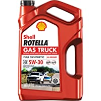 $39 » Shell Rotella Gas Truck Full Synthetic 5W-30 Motor Oil for Pickups and SUVs (5-Quart, Single…