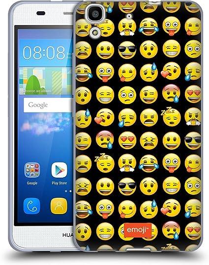 Officiel Emoji Modèle Smileys Étui Coque en Gel molle pour Huawei ...
