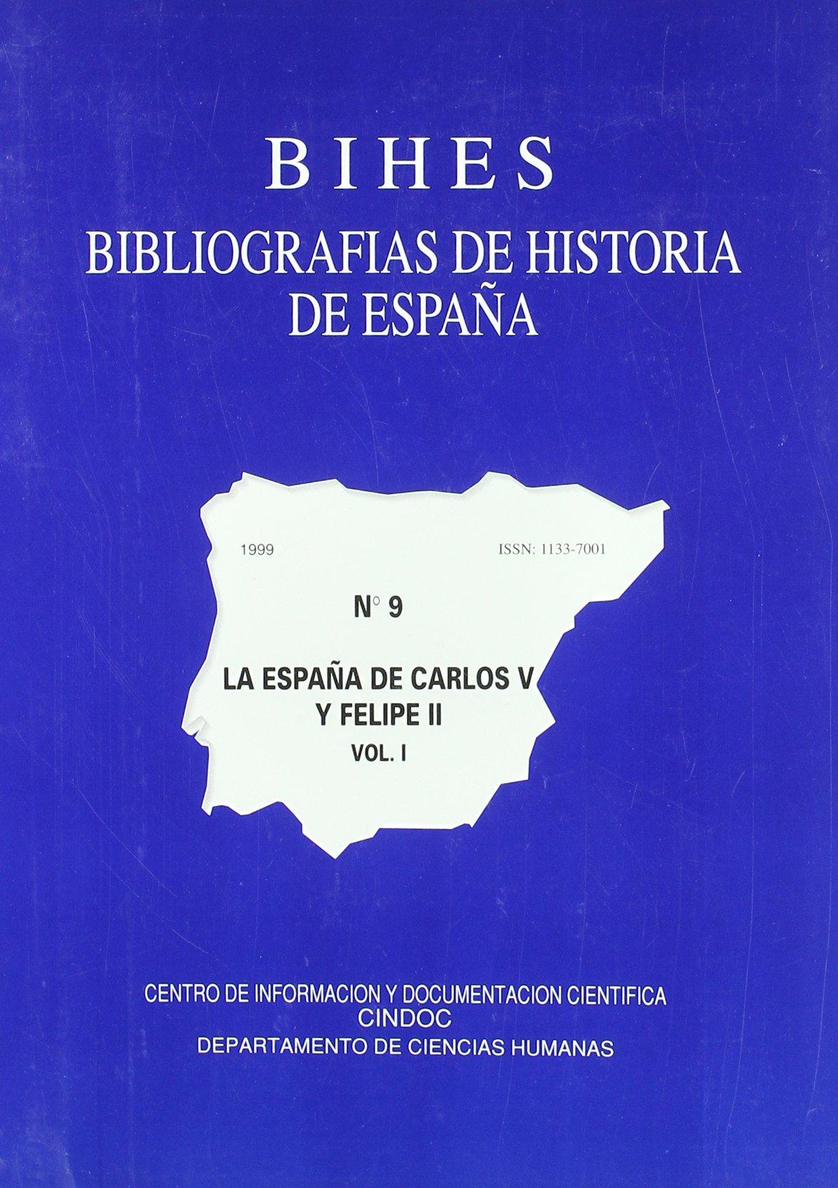 La España de Carlos V y Felipe II 2 vols. bibliografias hª de España, 9: Amazon.es: Andres Verdu, Rosario: Libros