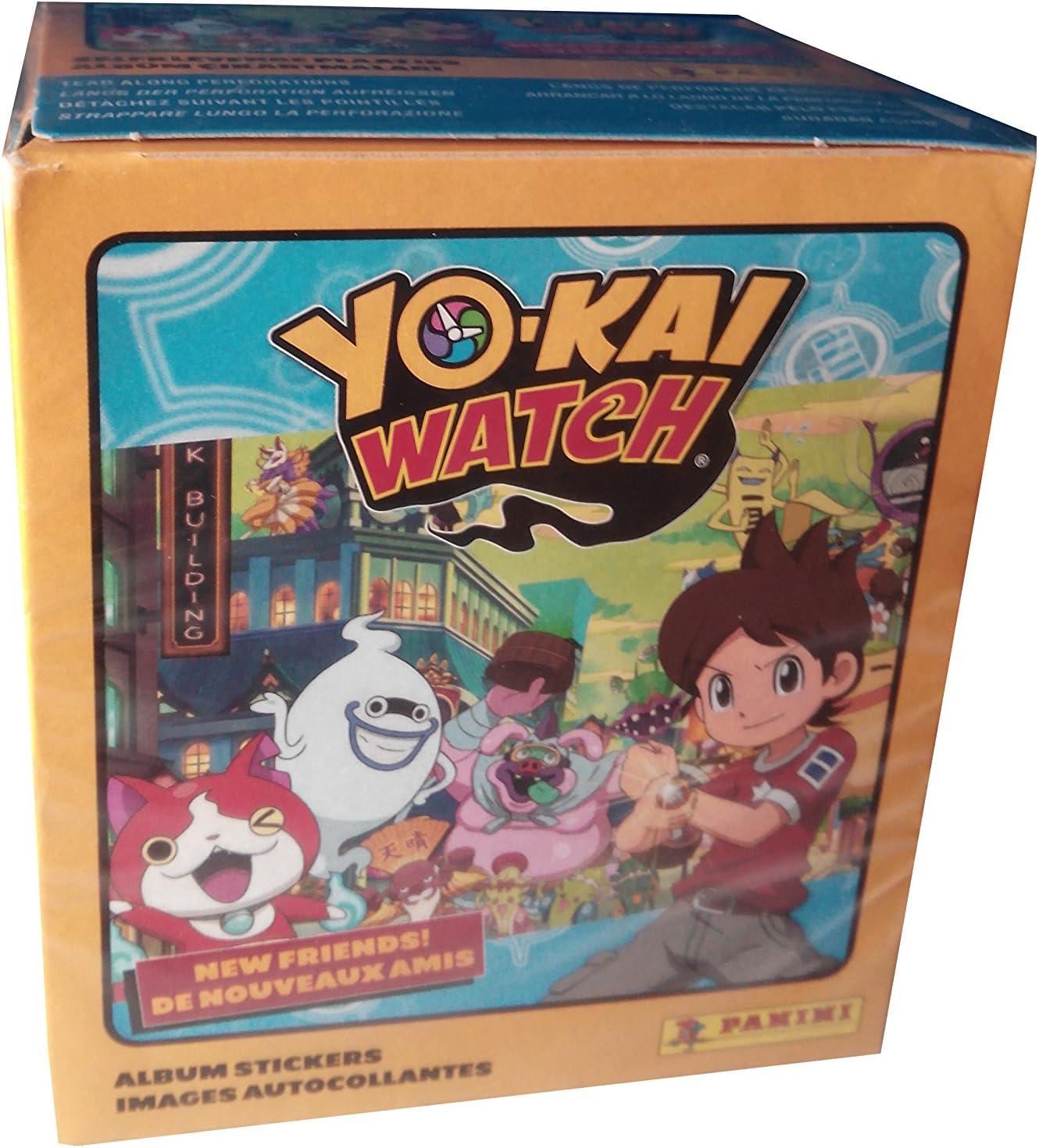 Yo-kai Watch Caja con 50 cromos ¡Nuevos Amigos (Panini ...