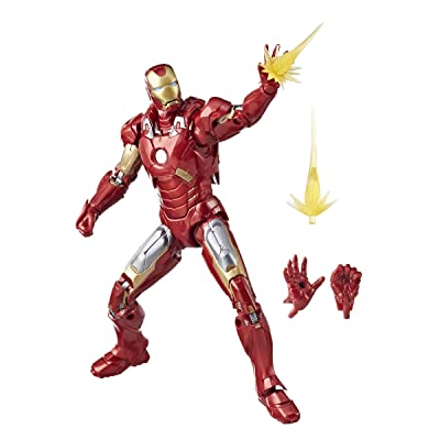 Marvel Studios: The First Ten Years The Avengers Iron Man Mark VII: Toys & Games