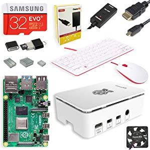 CanaKit Raspberry Pi 4 Complete Desktop Starter Kit (8GB RAM)