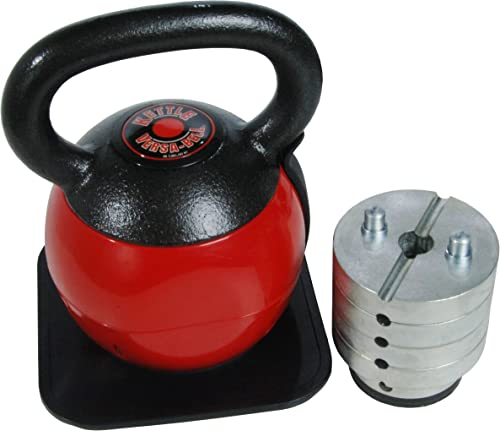 side facing stamina kettle versa-bell adjustable kettlebell