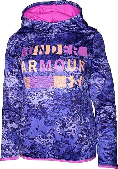 girls under armour pullover