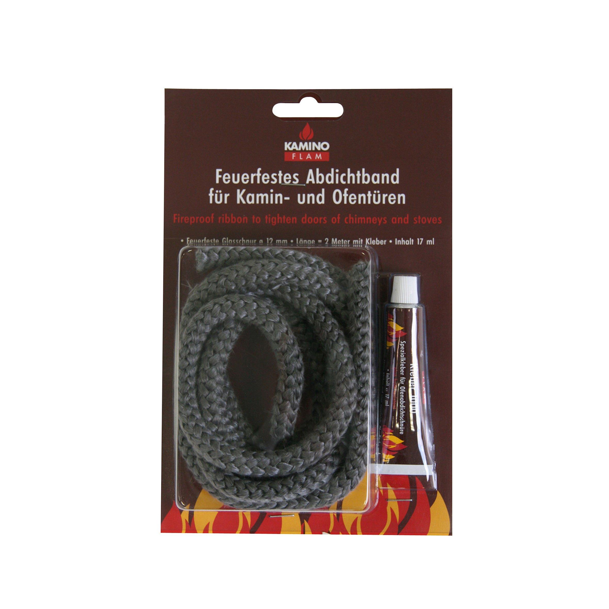Stove Door Replacement Fibreglass Rope Kit 3mm x 2m Standard Rope