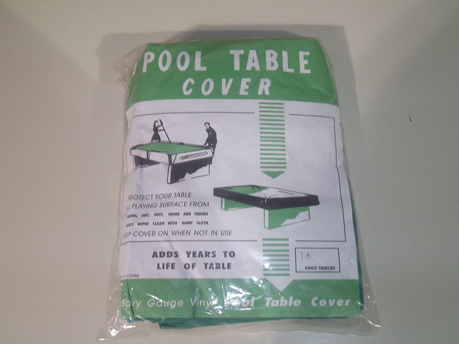 POOL TABLE COVER TO FIT 8 FT TABLE** sgl