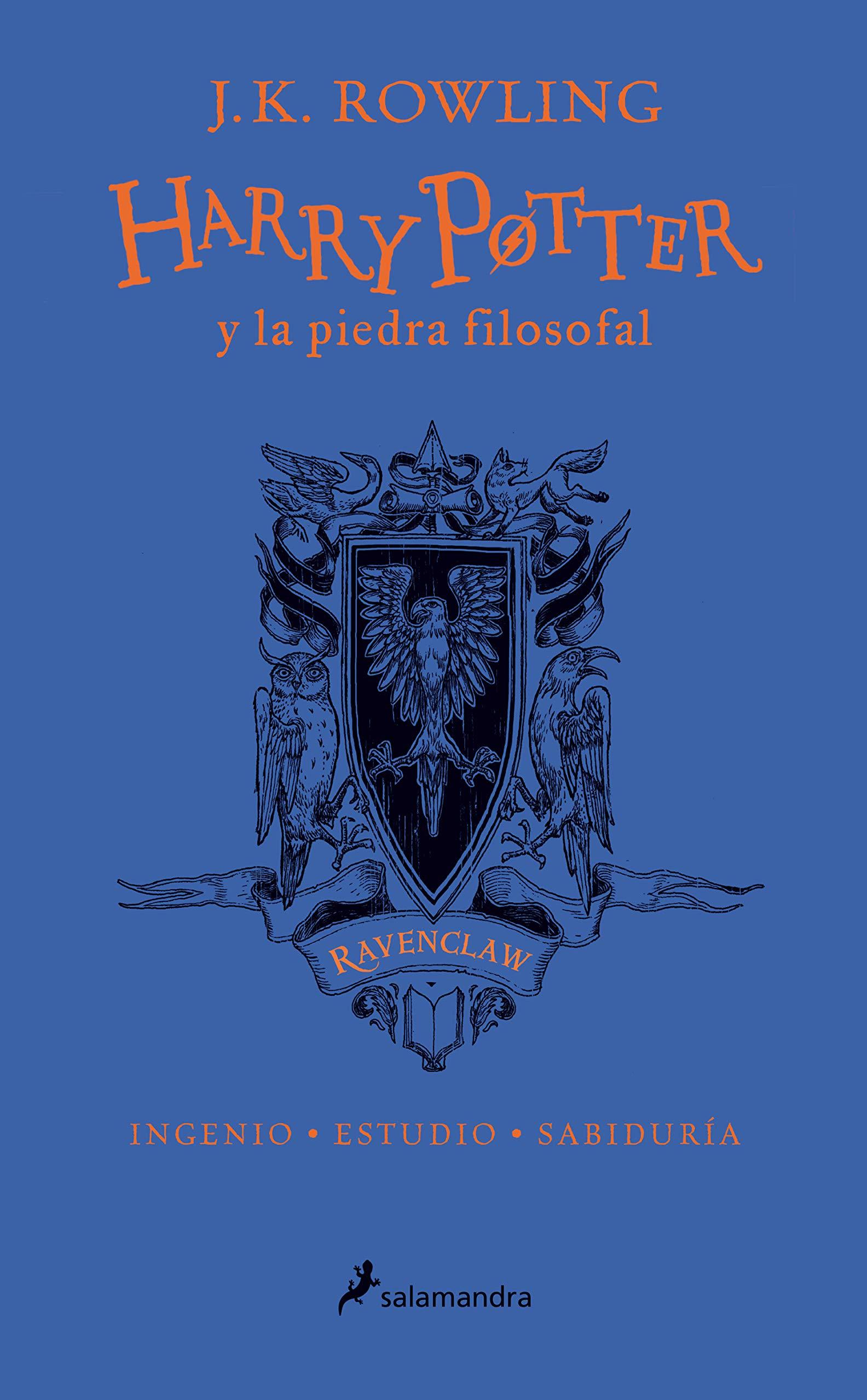 HP y la piedra filosofal-20 aniv-Ravenclaw: Ingenio · Estudio ...