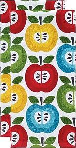 T-fal Textiles Kitchen Towel, 2 Pack, Apples
