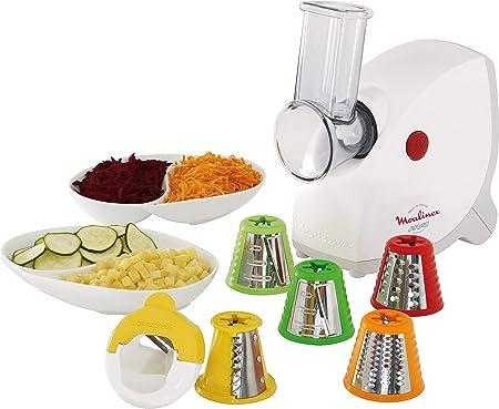 Moulinex ME415132 Robots de cocina, 1400 W, color blanco: Amazon.es: Hogar
