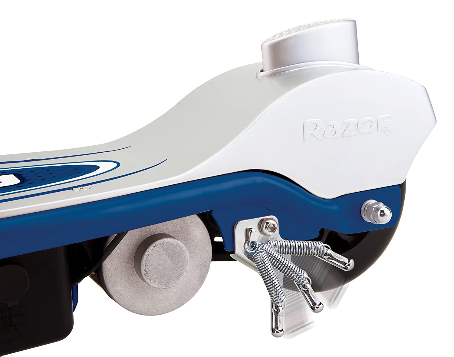 Razor e90 Electric Patinete Azul: Amazon.es: Deportes y aire ...