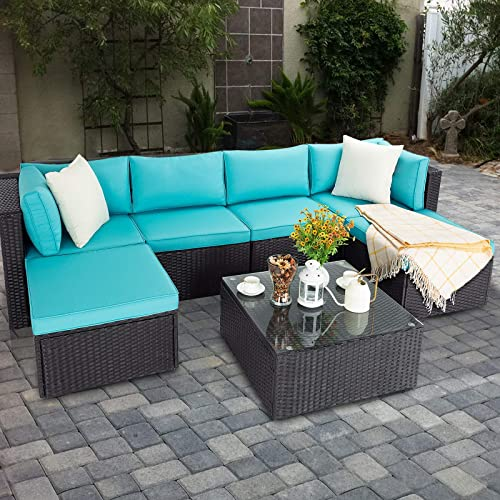 VITESSE 7 Pieces Patio Furniture Sectional Sets