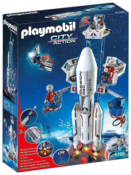 FuséeJeux 6195 Avec Et De Lancement Base Playmobil vf7yIb6gY