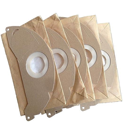 Clean Fairy - Bolsas para aspiradoras Karcher A2000, 2003, 2004, 2014, 2024, 2054, 2064, 2074, S2500, WD2200, 2210, 2240, 2250 - 20 bolsas