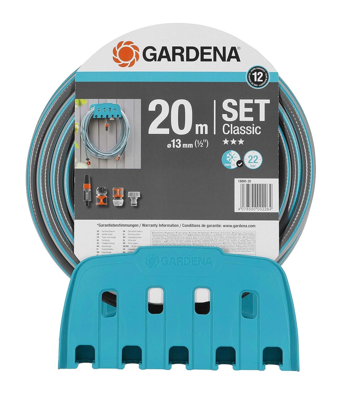 Gardena 238-20 System-Schlauchboy Wand-Schlauchhalter Wasserschlauchhalter