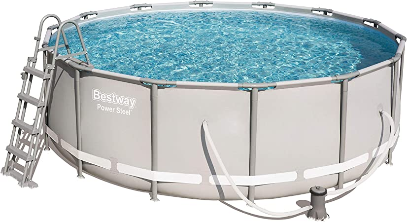Bestway 56444 de GS19 Power Steel Pool ø427 X 122 CM, Marco de ...