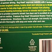Amazon Com Prestone As657 Bug Wash Windshield Washer