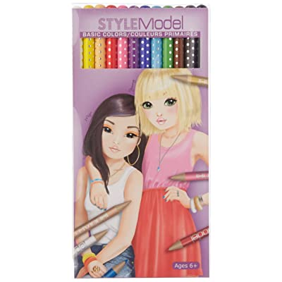 StyleModel Basic Color Pencils: Toys & Games