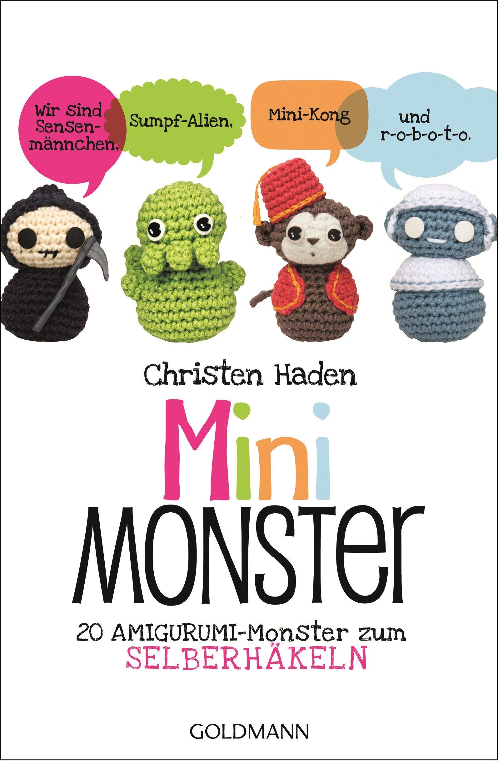 Mini-Monster: 20 Amigurumi-Monster zum Selberhäkeln: Amazon.de ...