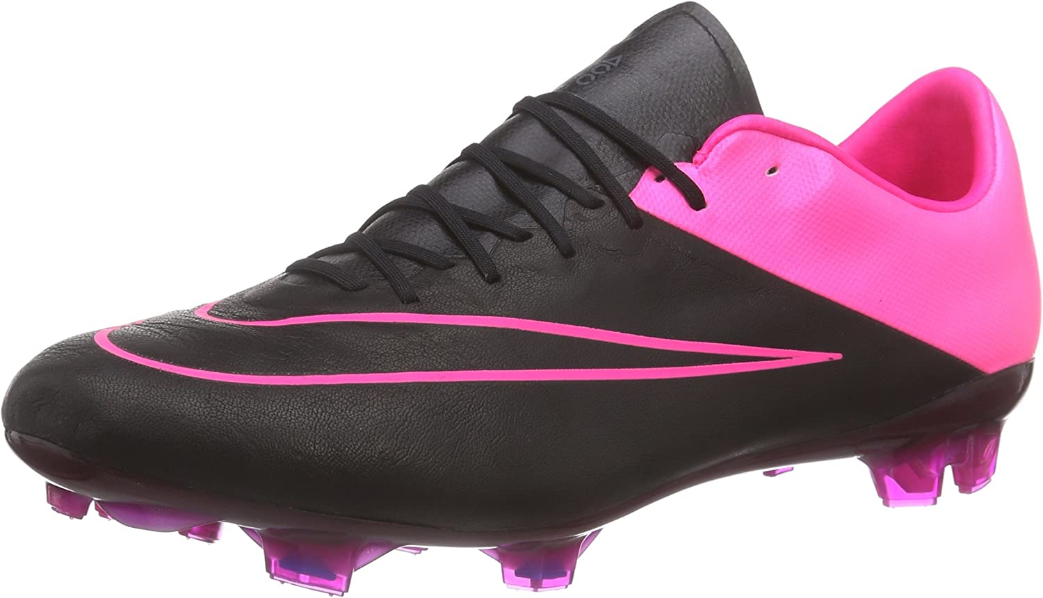 valores Haciendo Vendedor  Amazon.com | Nike Mercurial Vapor X Leather Firm Ground [Black/Hyper  Pink/Black] (6.5) | Soccer