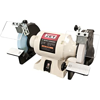Jet Jwbg 8 8 Quot Ww Bench Grinder With Norton Wheels White