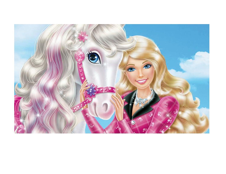 Barbie imagen foto decoración para tarta para hoja ...