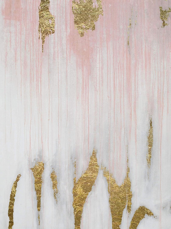 Amazon com handmade home office luxury wall decor gold foilpink