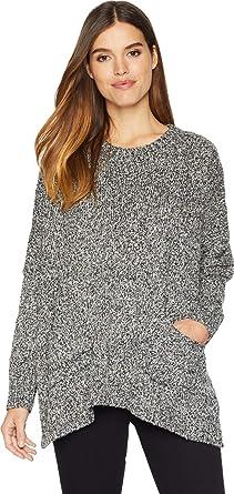 1a8298cd25 kensie Women s Boucle Pocket Sweater