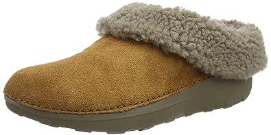 92f659317 Fitflop Women s Loaff Snug Open Back Slippers  Amazon.co.uk  Shoes ...