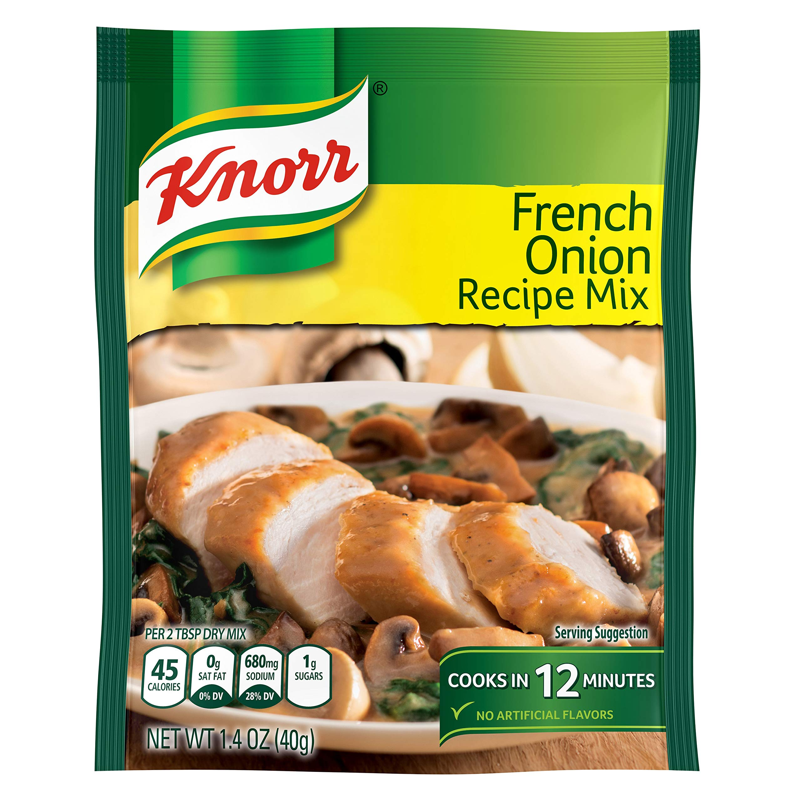 Knorr Recipe Mix, French Onion, 1.4 oz(Pack Of 12) by Knorr
