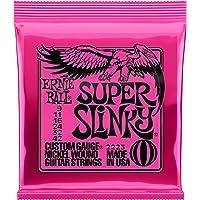 Encordoamento de Guitarra Ernie Ball Super Slinky 0.9